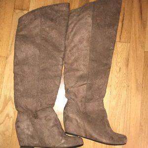 Bloomingdales Knee High little Wedge Boots